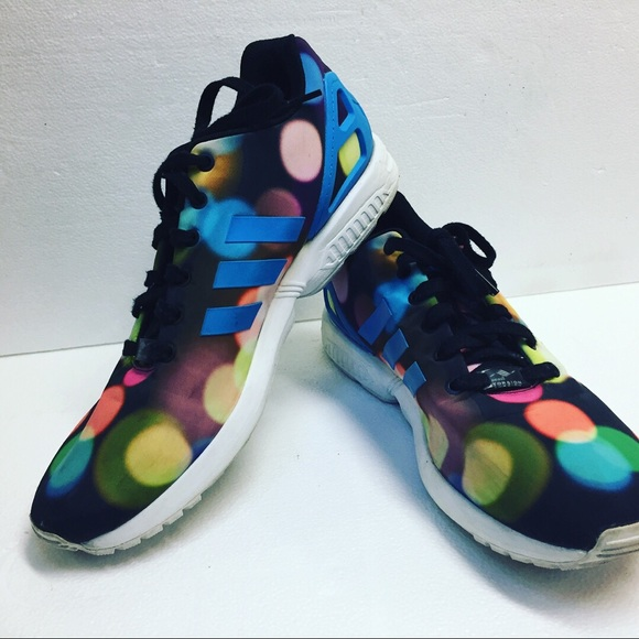 "75946c1b20fe Adidas ZX Flux ""City Lights"" Bubble Gum Mens shoes.  M 5bb457ac4ab6330176272f38"